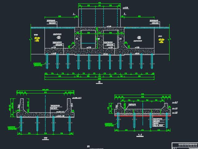 海塘加固水闸箱涵设计图纸