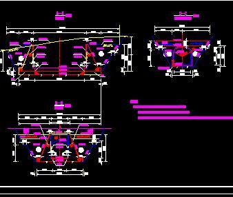 755米隧洞构造设计图纸