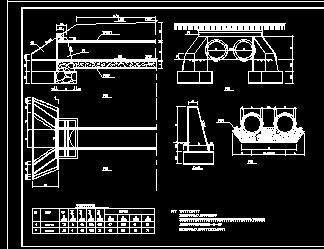 圆管涵结构施工图纸免费下载 - 桥梁隧洞 - 土木工程网