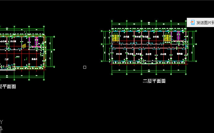 2.打开天正软件,选择【文件布图】下的【工程管理】.-CAD天正软