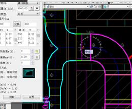 天正软件快速v软件CAD图纸中通风风管图纸-天搅拌器数量图片