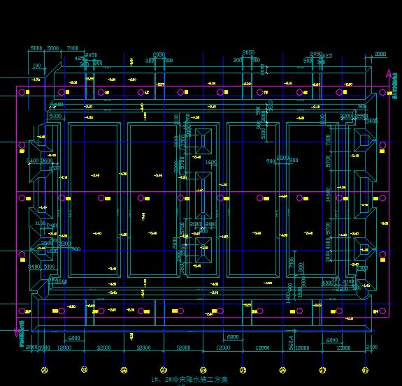 中厚板冷床区设备基础降水施工方案附施工图