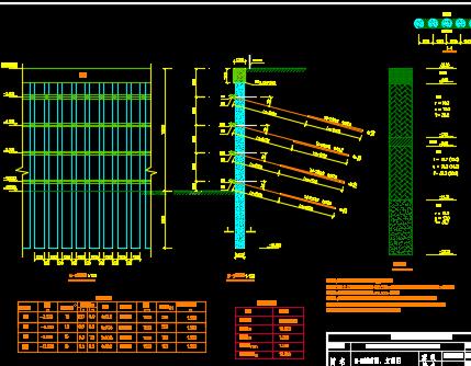 某广场项目基坑支护毕业设计(含图纸、计算书、开题报千、任务书、横道图、PPT)
