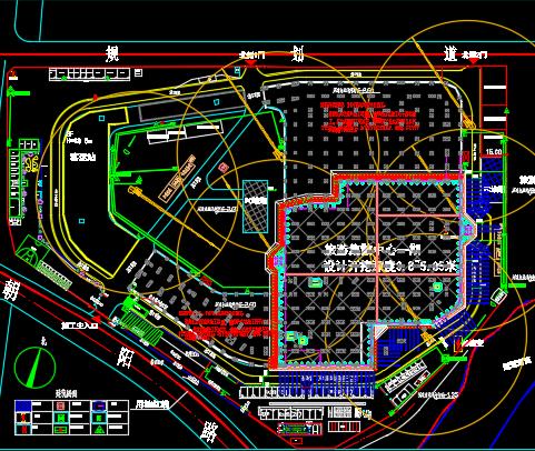 旅游集散中心项目深基坑施工方案 46P(含图纸)