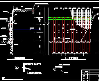 深基坑支护设计图纸