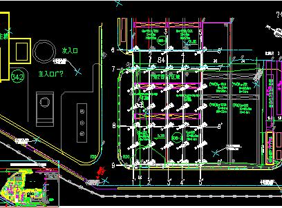 某工程勘察平面图