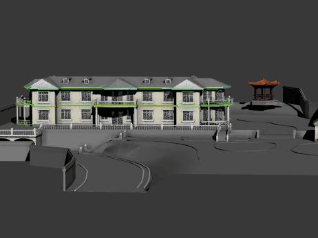 某私人别墅3D模型图