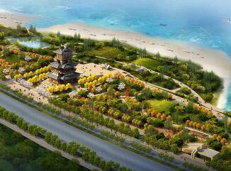 某滨江中式园林设计3Dmax模型