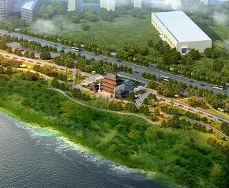 中式滨水园林景观设计3Dmax模型