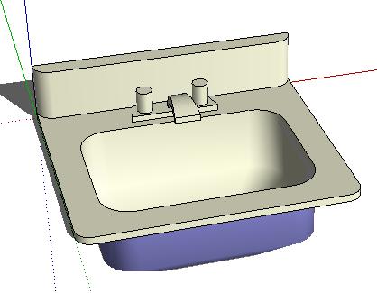 卫浴组件SketchUp模型