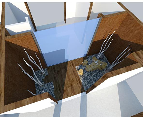 办公区域茶室咖啡室SketchUp模型