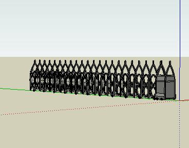 电动门模型_电动门SketchUp模型免费下载 - SketchUp - 土木工程网