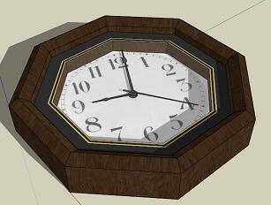 9款钟表SketchUp模型
