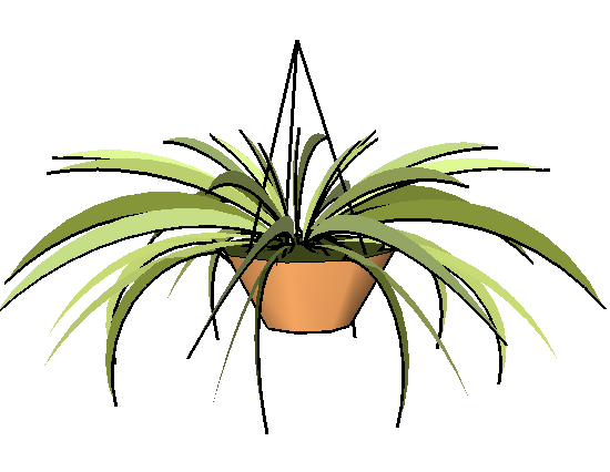 SketchUp植物模型及人物模型
