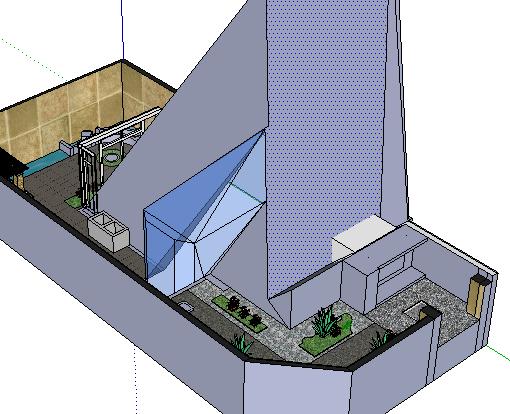 别墅绿化SketchUp模型