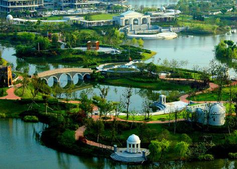 农业旅游、观光、休闲园总体规划设计
