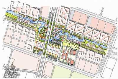 金华婺城新区景观规划 - 规划设计