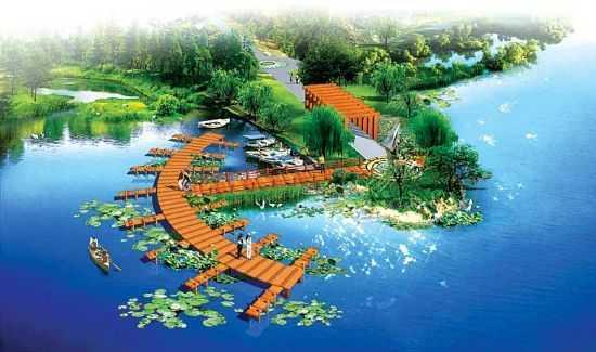 牛山湖度假村景观设计方案