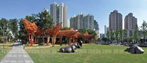 园林工程 03  园林论文 03  规划设计 03 正文   静安雕塑公园