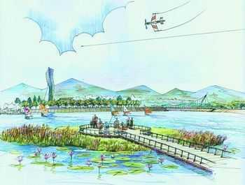 滨水景观设计集锦 - 园林绿化图片