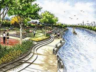 环境景观 滨水工程 某滨水景观工程规划 滨水景观设计 滨水公园设计