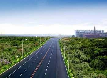 道路绿化设计图汇总