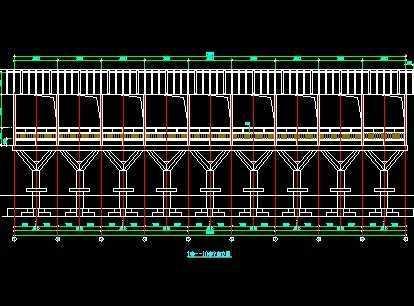 钢结构长廊施工图