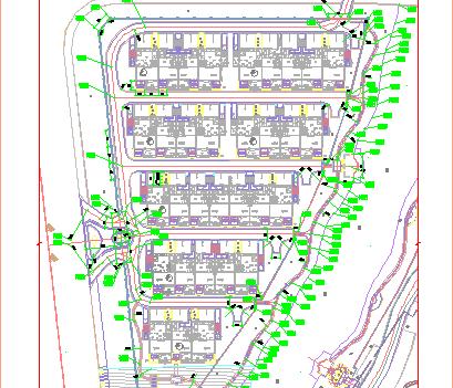 住宅区景观施工图纸