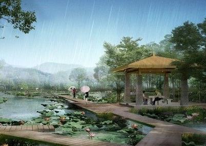 82456平米公园绿化景观施工组织设计