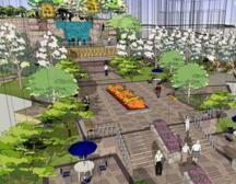 某山地居住区景观工程施工组织设计