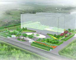《职业专科学校景观设计方案》园林毕业设计