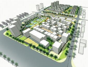 科技工业园景观规划设计方案毕业设计
