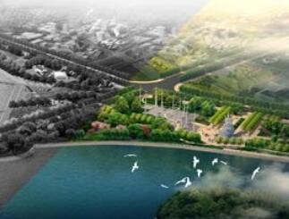 滨河公园景观澳门威利斯赌场毕业澳门威利斯赌场方案