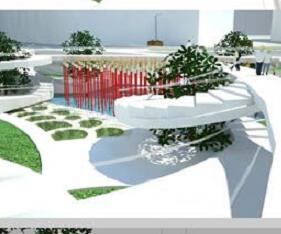 服饰城广场景观设计毕业设计方案