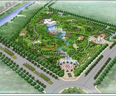 某中央公园景观设计毕业设计方案