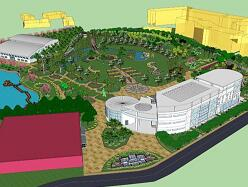 校园景观建筑空间优化设计毕业设计作品
