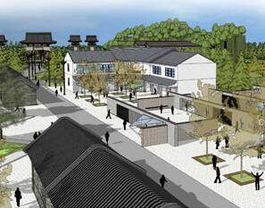 客家文化村落景观规划设计毕业设计作品