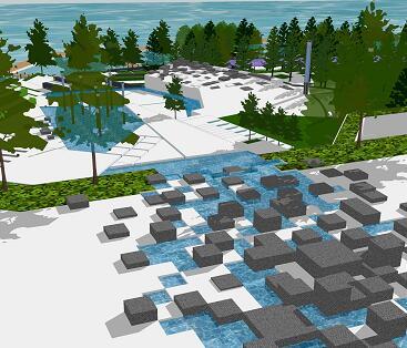《滨水区景观设计》毕业设计方案