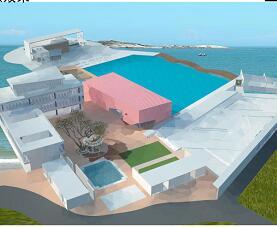 度假海岛旧区有机改造毕业设计方案