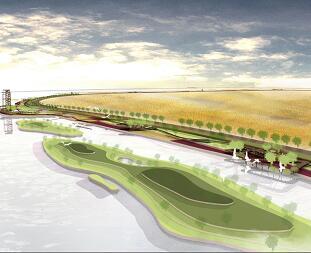 沿河景观规划设计毕业设计方案