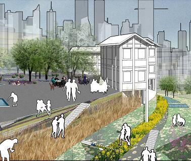 《从防空洞遗址到城市安逸空间》毕业设计方案