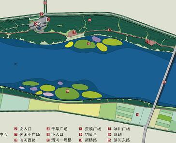 《一河两岸景观规划设计》毕业设计方案