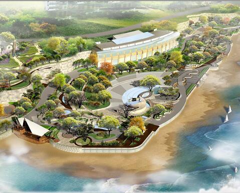 《滨海景园设计》毕业设计方案