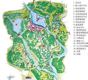 森林公园景观规划毕业设计方案