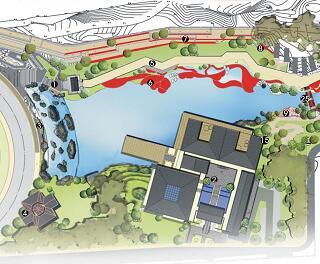 《遗址公园景观澳门威利斯赌场与公共艺术澳门威利斯赌场》毕业澳门威利斯赌场方案