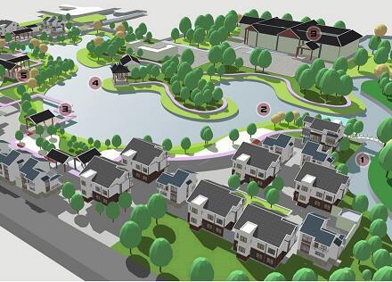 《景观的持续进化—乡村景观更新规划设计》毕业设计方案