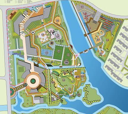 《儿童生态运动园区景观规划设计》毕业设计方案