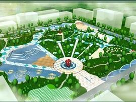 文化公园景观设计规划毕业设计方案(jpg)