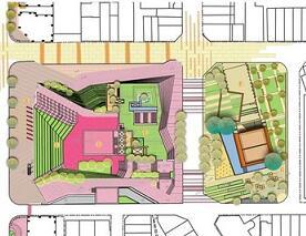 街道及周边环境之步行空间规划设计毕业设计方案(jpg)
