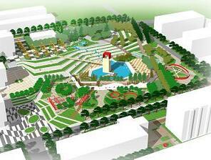 《大学校园景观设计》毕业设计方案(jpg)